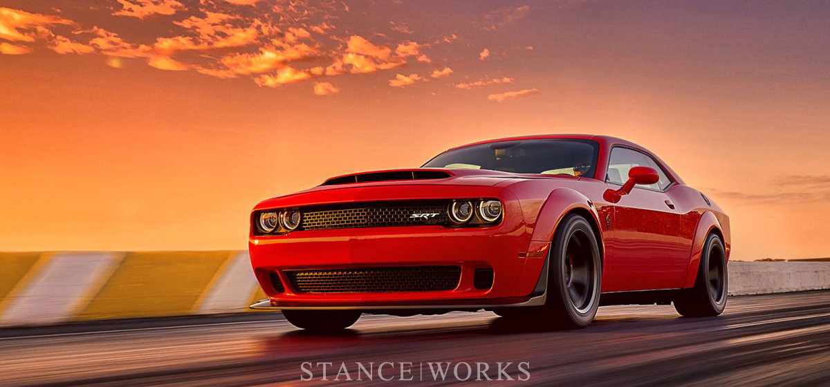 From the Gates of Hell - The Dodge Demon is One of the Most Badass Cars Ever. Period.