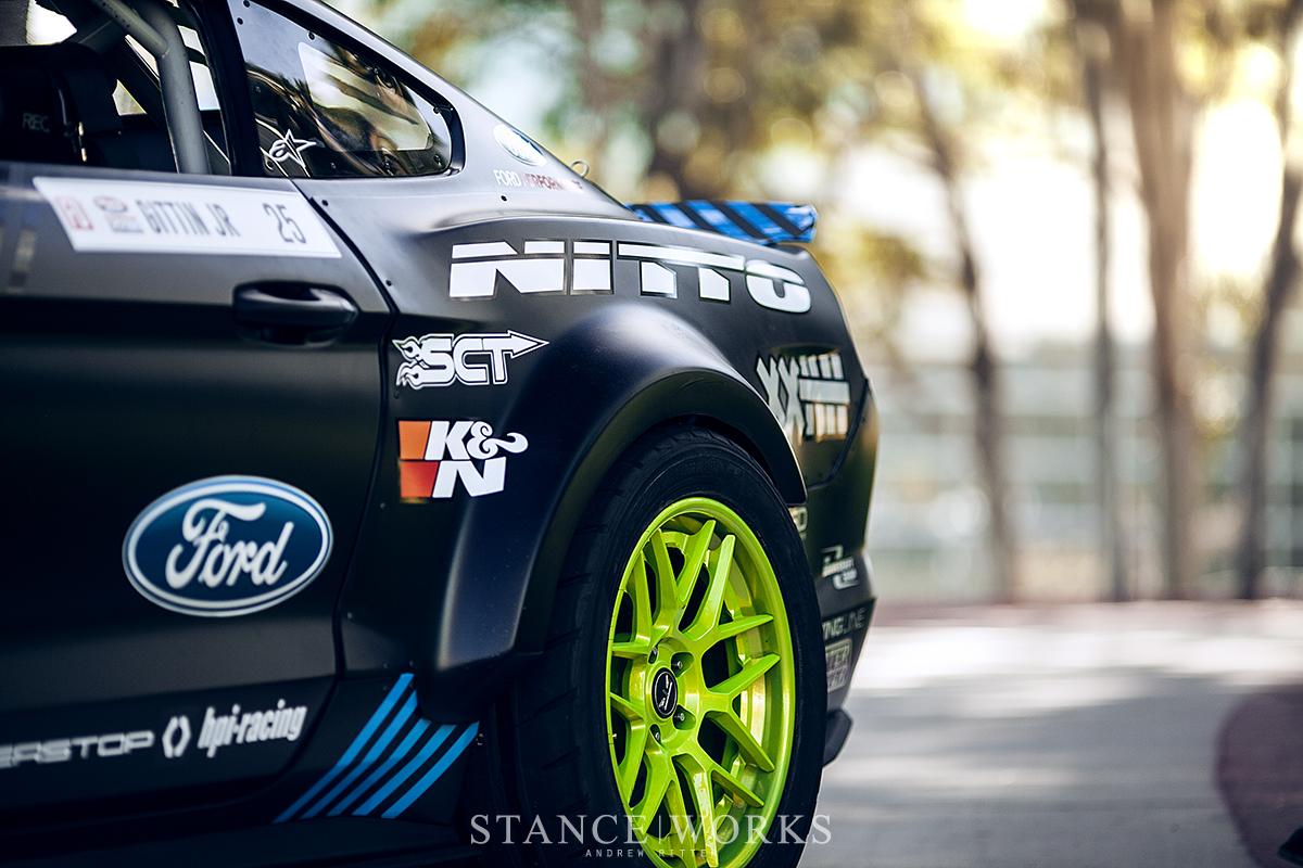 the crowd favorite vaughn gittin jr s 2017 nitto tire monster energy formula drift mustang spec 5 d monster energy formula drift mustang