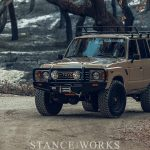 The Daily Grind - The StanceWorks LS-Swapped FJ60 Land Cruiser at Lake Cachuma