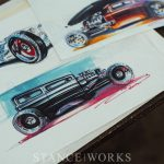 """Notable Rides"" - The Automotive Art of Doug Breuninger"