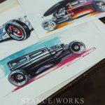 """Notable Rides"" - The Automotive Art of Doug Breuninger"