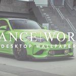 StanceWorks Wallpaper - The IND M2 - Gelbgrün