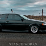 Thunder & Lightning - Matty Dowd's 1983 Toyota AE86 Corolla Levin - Photographed by Josh Castle