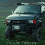 Fording Ahead - Justin Chenoweth's 4x4 2003 Ford E-150